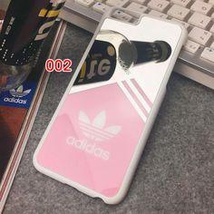 iPhone SE ケース Adidas iPhone6s/7ケース カップルペアケース 親友お揃い 可愛い 鏡ミラー付き iPhone6s…