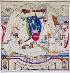 Scottish Tapestry: Tapestry Panels - The Great Tapestry of Scotland
