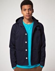 Hooded jacket for spring