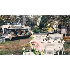 Miho food truck + Union Booth photo booth at the San Diego Botanic Garden. SWOON