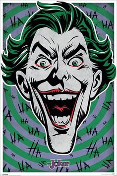 Batman - The Joker - Ha Ha Ha - Official Poster