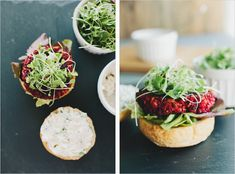 Smoky Beet Burgers and several other awesome veggie burger recipes Veg Burgers Recipe, Burger Recipes, Vegetarian Recipes, Healthy Recipes, Veggie Burgers, Lentil Burgers, Beetroot Burgers, Beet Burger, Rigatoni