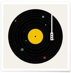 Music Everywhere - Florent Bodart - Premium Poster