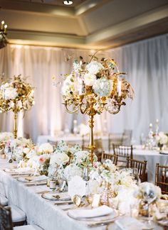 Colleton River Editorial By Spencer Special Events Gold CandelabraCandelabra CenterpieceWedding