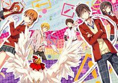 Anime   Tonari no Kaibutsu-kun, Mizutani Shizuku, Yoshida Haru, Natsume Asako, Yamaguchi Kenji