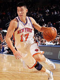 Jeremy Lin-- the first American player of Chinese or Taiwanese descent in the NBA.  He's a Harvard alum who plays for the New York Knicks.  He scored 38 points for a 92-85 victory over the Lakers.