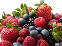 Berries for the waffles/ as a side