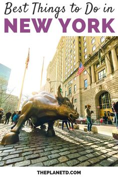 Best Things to Do in NYC | It doesn't matter if you are a first time visitor or this is your 5th time visiting, this list of the ultimate things to do in New York City will make your next trip unforgettable. | Blog by the Planet D #Travel #NYC #NewYork | visiting nyc | nyc visit | nyc vacation | to do in nyc