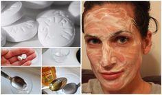 Máscara facial incrível - Moça revela o segredo de sua pele linda!