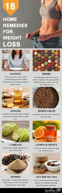 18 Home Remedies For Weight Loss