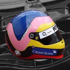 JACQUES VILLENEUVE 2006 F1 REPLICA HELMET
