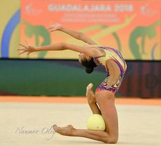 Daria Trubnikova (RUS) European Championships Guadalajara 2018