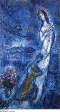 Oil Paintings of 4 Bathsheba Marc Chagall Fantasy Art for sale by Artists Marc Chagall, Artist Chagall, Chagall Paintings, Pablo Picasso, Arte Judaica, Pierre Auguste Renoir, Jewish Art, Manet, Paul Gauguin