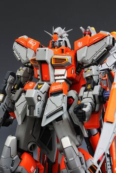 MODELER: sykwai MODEL TITLE: N/A MODIFICATION TYPE: custom color scheme, conversion KITS USED: G-System 1/72 hi-v Gundam conversion kit, ...