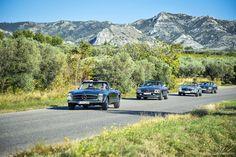 Mercedes-Benz 230 SL & 280 SL (W 113 und R 107)in der Provence | Nostalgic Oldtimerreisen
