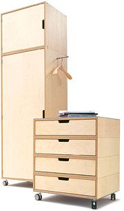 MÜLLER MÖBELWERKSTÄTTEN - Stapelliege / Stapelbett (design: Rolf Heide The Effective Pictures We Offer You About dog furniture diy A quality picture can tell you many things. You can find the mo Modular Furniture, Plywood Furniture, Furniture Plans, Rustic Furniture, Cool Furniture, Furniture Design, Furniture Stores, Office Furniture, Furniture Dolly