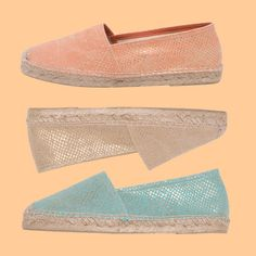 Proof that casual chic can be completely effortless - CHANTAL canvas espadrilles at EspadrillesEtc.com