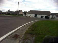 Circuit de Chimay - This is the first corner in Salles. Get it wrong and you're in a barn!