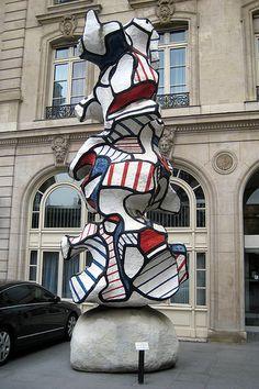 Caisse des Dépôts - Jean Dubuffet's: Le Réséda .Paris 7ème