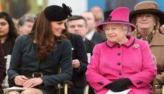 Queen Elizabeth Upset Over naem of Kate Middelton's Baby girl