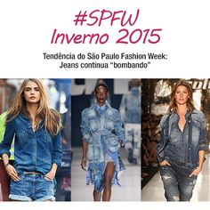 Para os amantes do Jeans, vai uma boa notícia: ele continuará bombando! Marcas como Colcci, TNG, Amapô e o estilista Vitorino Campos investiram no tecido, que faz parte do nosso dia a dia e todo mundo usa, ou seja, é democrático... http://www.veridicait.com.br/sao-paulo-fashion-week/tendencia-spfw-jeans-continua-bombando/  #spfw #tendencia #jeans
