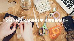 SelfPackaging ♥ Handmade by DOSDEVIDEO. Una mañana de primavera, SelfPackaging reunió a seis creativas de Barcelona, para personalizar sus cajitas.