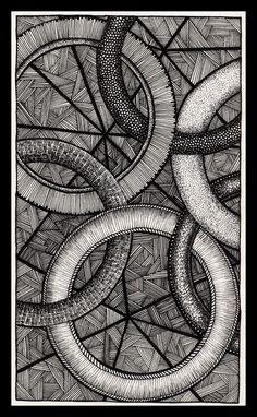 Linked by Itsuo on DeviantArt Mandala Pattern, Zentangle Patterns, Mandala Design, Pen Doodles, Doodles Zentangles, Doodle Art Drawing, Line Drawing, Simple Background Design, Mandala Doodle