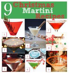 9 Christmas Martini Recipes