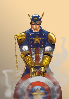 Steampunk Captain America