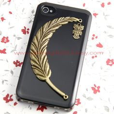 Feather with owl iPhone case I NEED THIS