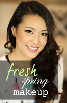 Hey everyone! Today I wanted to share with you a fresh and simple makeup look to easily brighten up your face. When Spring comes ar...