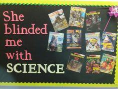 Middle school science class- Science bulletin board