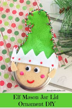 25 adorable and easy DIY Christmas Ornaments to make with kids! Start new holiday traditions by adding one or many to your Holiday craft to-do list. Mason Jar Christmas Gifts, Fabric Christmas Ornaments, Christmas Crafts, Christmas Ideas, Christmas Stuff, Christmas Desserts, Christmas 2019, Handmade Christmas, Christmas Decorations