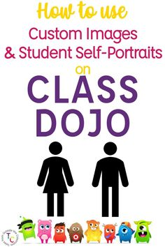 Personalize Class Dojo with student-created self-portraits and upload them as custom Class Dojo avatars.This helpful tutorial blog post walks you through students creating their portraits to use instead of the preset monsters, including free templates. This is a great idea for using Dojo in the middle and upper elementary grades when students may need more buy in with your management system.  #classdojo #classroommanagement