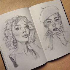 Art Sketchbook Inspiration Pencil – Art World 20 Cool Art Drawings, Pencil Art Drawings, Art Drawings Sketches, Arte Sketchbook, Sketchbook Inspiration, Design Inspiration, Aesthetic Art, Art Inspo, Painting & Drawing