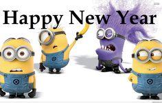 New Year Minions 2015