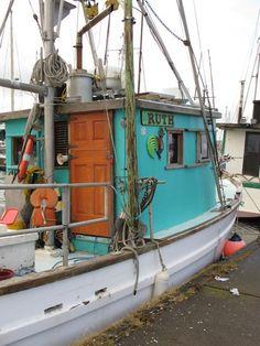 RUTH, a Boat with Color and Style! I love walking the marina at Charleston, Oregon! | Flickr - Photo Sharing!
