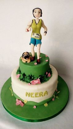 Marathon Runners Marathons And Wedding Cake Toppers On Pinterest