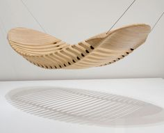 Adam Cornish Design Wooden Hammock  $5,500