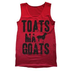7856c621f13ff9 Toats Ma Goats Tank Top. Indie Men