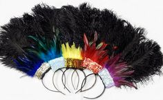 Samba Party Ostrich Feather Las Vegas Showgirl by sajeeladesign, $25.95