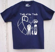 Kite Surfing Gear Check T shirt от JoltyClothing на Etsy