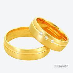 Trauringe Eheringe Gold Gelbgold - C037