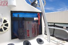"""TACKLEWEB BOAT ORGANIZER 16""""x12"""" -This web storage pocket is perfect for any and all boat organizing needs. The Web storage comes in this small 16"""" x 12"""" up to"""