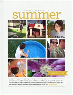 Layout Share: Select Scenes of Summer