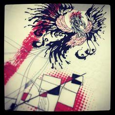 Trash polka tattoo design #trashpolka #tattoo