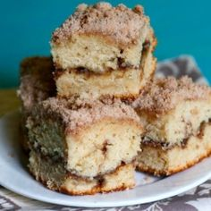 Cinnamon Streusel Coffee Cake - quite possible the best coffee cake that you ever did have!