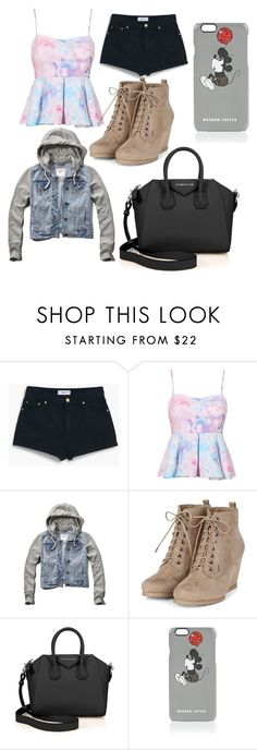 """Untitled #23"" by sofi-the-first1912 on Polyvore featuring MANGO, Abercrombie & Fitch, Givenchy and Markus Lupfer"