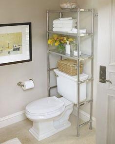 Scaffale sul wc