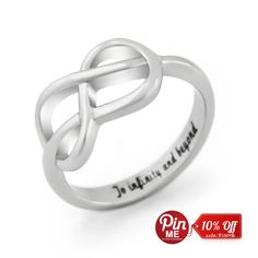 Infinity  Ring, Promise Ring Infinity  Symbol Ring